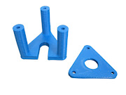 E3D Hotend Mount for SeeMeCNC Rostock MAX or Orion - Printed Part