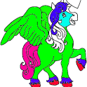 Unicorn Color pages logo