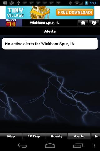 Siouxland Weather - screenshot