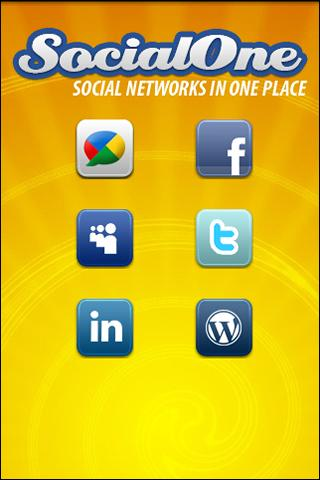 Social One - screenshot