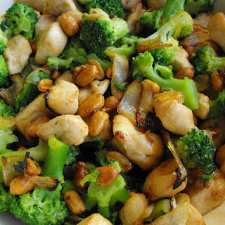 Chicken with Peanuts.