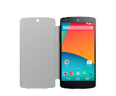 LG QuickCover for Nexus 5 (White/Gray)