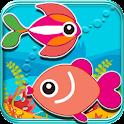 Puzzle Game-Marine Fish Quest icon