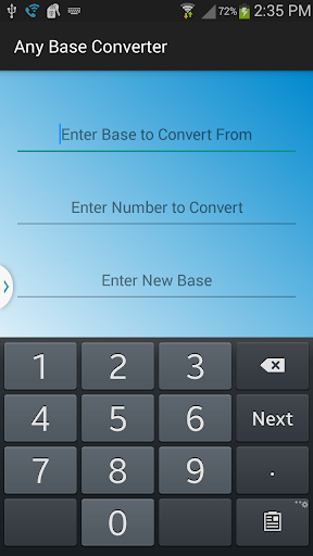 Any Base Converter