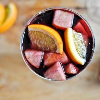 Pomegranate Vanilla Sangria