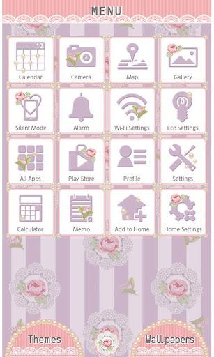 Girly Theme-Lavender Rose- 1.0 Windows u7528 3
