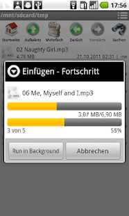 Datei Manager (File Manager) Screenshot
