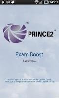 Screenshot of PRINCE2 ExamBoost Pro