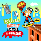 Skate Punk Bird Massacre
