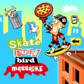 Skate Punk Bird Massacre