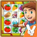 Farm Puzzle Story Match 3 Game icon