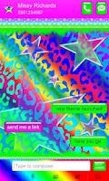 Screenshot of Polka Dot Rainbow Leopard SMS★