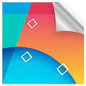 KitKat 4.4 Parallax LWP icon