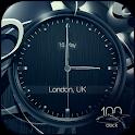 FREE Black business clock HD icon