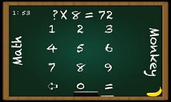 Screenshot of Math Monkey