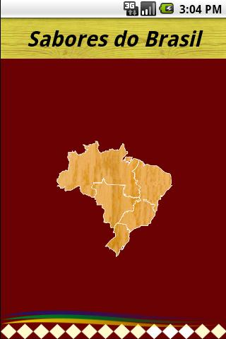 Sabores do Brasil- screenshot