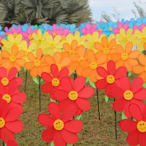 Smile Flower by Shafiq Azli - City,  Street & Park  City Parks
