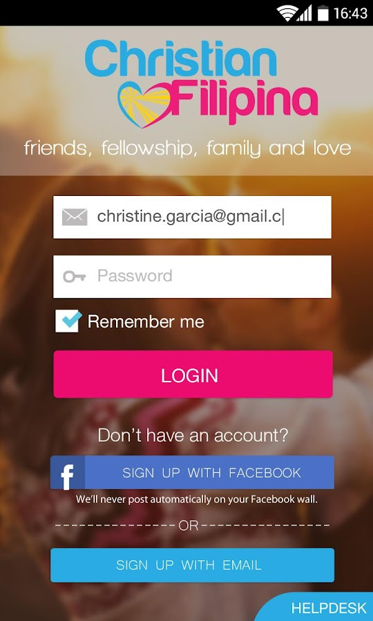 Christian Filipina Dating- screenshot