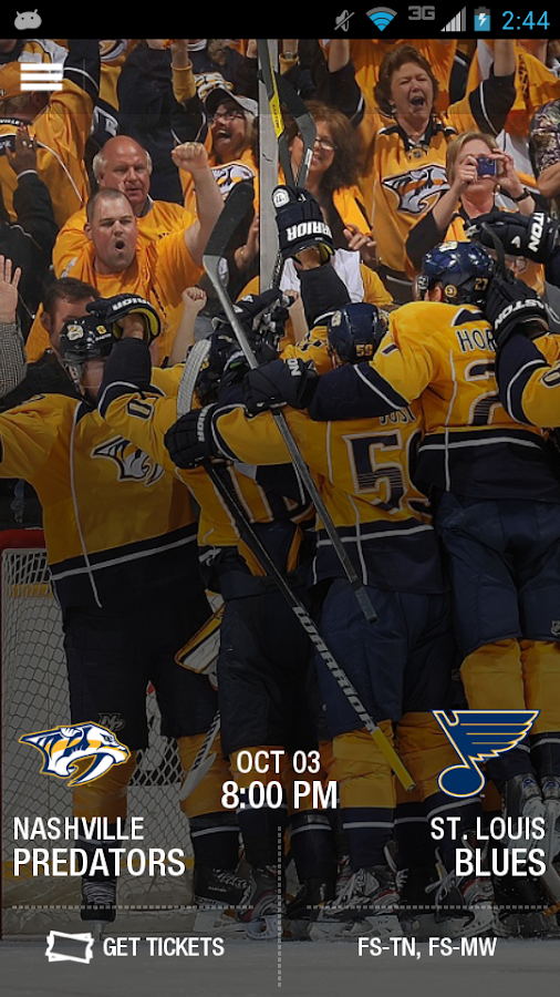 Nashville Predators - screenshot