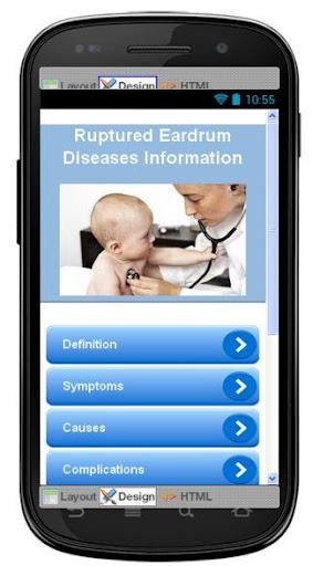 Ruptured Eardrum Information