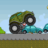 Army Monster Truck Race
