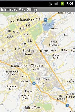 Islamabad Map Offline