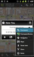 Screenshot of Locus - addon Foursquare