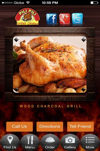 Pili Pili Grilled Chicken