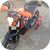 KTM Duke 125 Custom-Tuning
