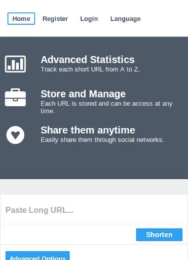 URL Shortner Minilink.in
