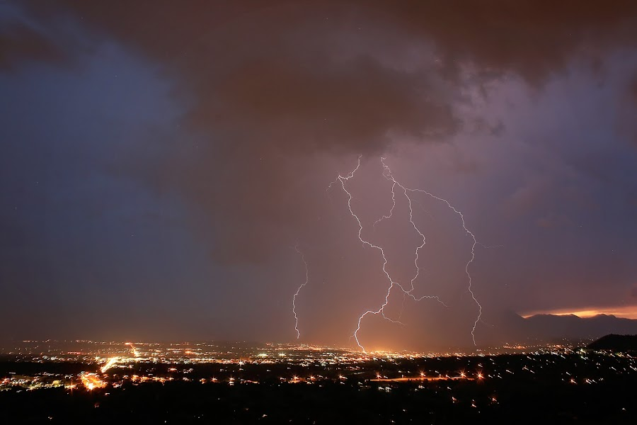 by Laurie Ramsey - Landscapes Weather ( hail, animals, plants, colorado, storm, photography, lightning, sky, colorado springs, nature, weather, springs, july, storms, rain )