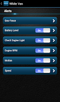 Screenshot of Delphi Connect for Verizon