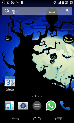 Halloween HD Live Wallpaper 6