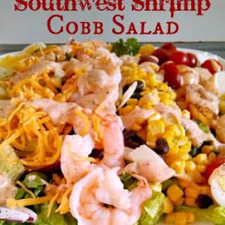 Southwest Shrimp Cobb Salad.