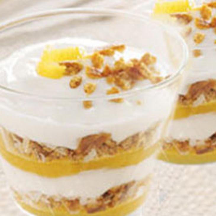 Breakfast Parfait with Fresh Fruit Recipe