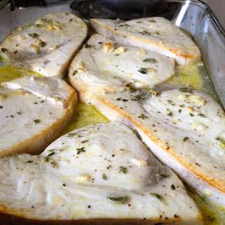 Lemon Swordfish.