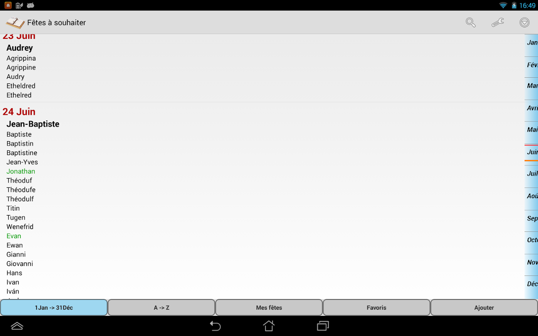 Fêtes à souhaiter Lite - screenshot