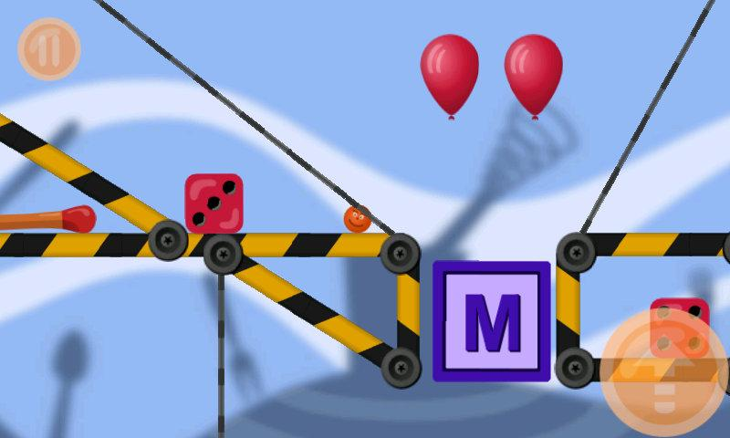 MiniLand (physics 2d)- screenshot