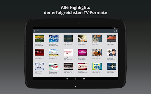 Clipfish: TV, Filme & Musik - screenshot thumbnail