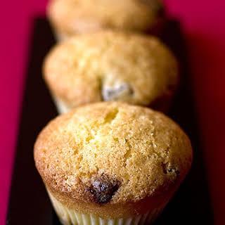 Dark Chocolate and Walnut Muffins.