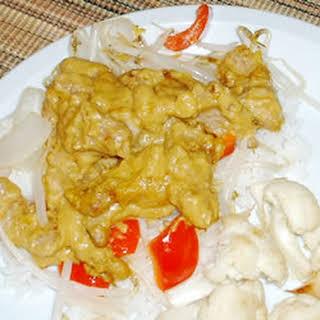 Curry Pork Tenderloin.