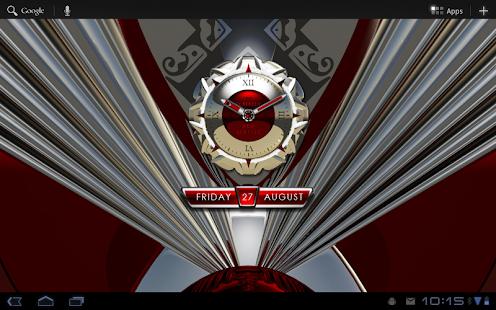 clock widget RED MAGIC|玩生活App免費|玩APPs