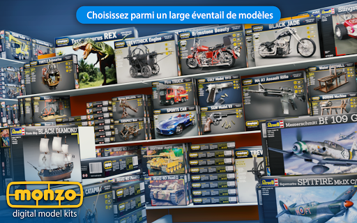 MONZO - Maquettes numériques  captures d'écran 2