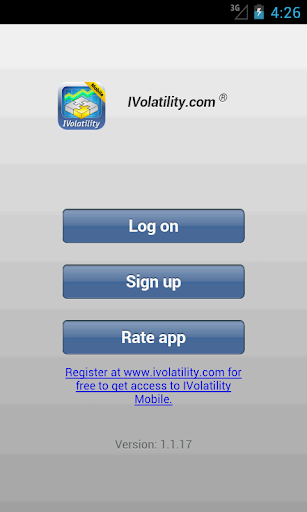 IVolatility Mobile