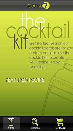 The Cocktail Recipe Kit