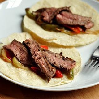 Chili-Lime Steak Fajitas