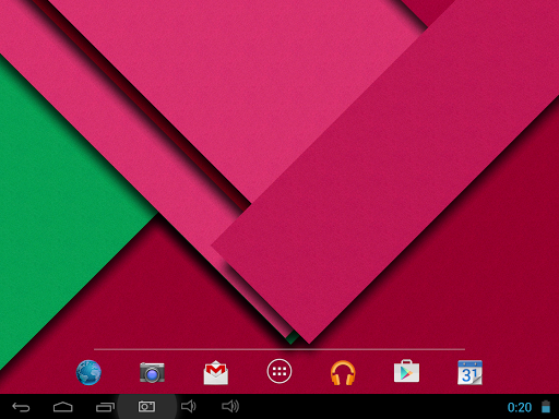 Android Lollipop 5.0 Live WP