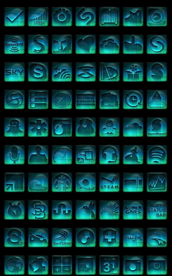 Nebula - Icon Pack - screenshot