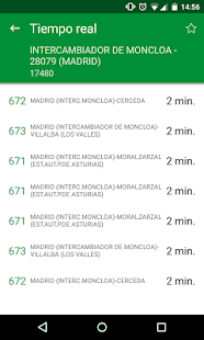 Transporte Madrid - EMT Interurbanos Metro TTP- screenshot thumbnail