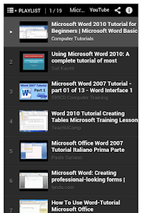 玩教育App|Microsoft Word Tutorial免費|APP試玩